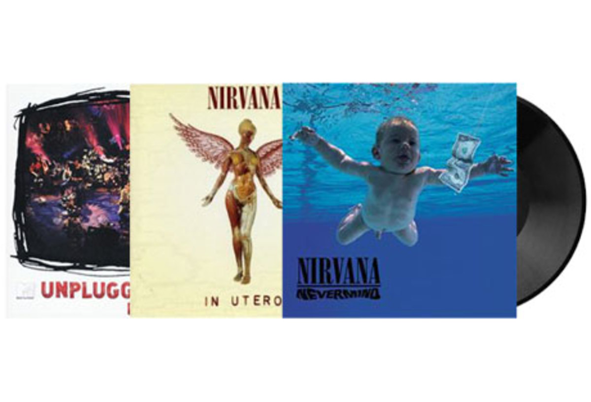 Yes, Nirvana can be had on vinyl, but at roughly 3x the price of Cd's.