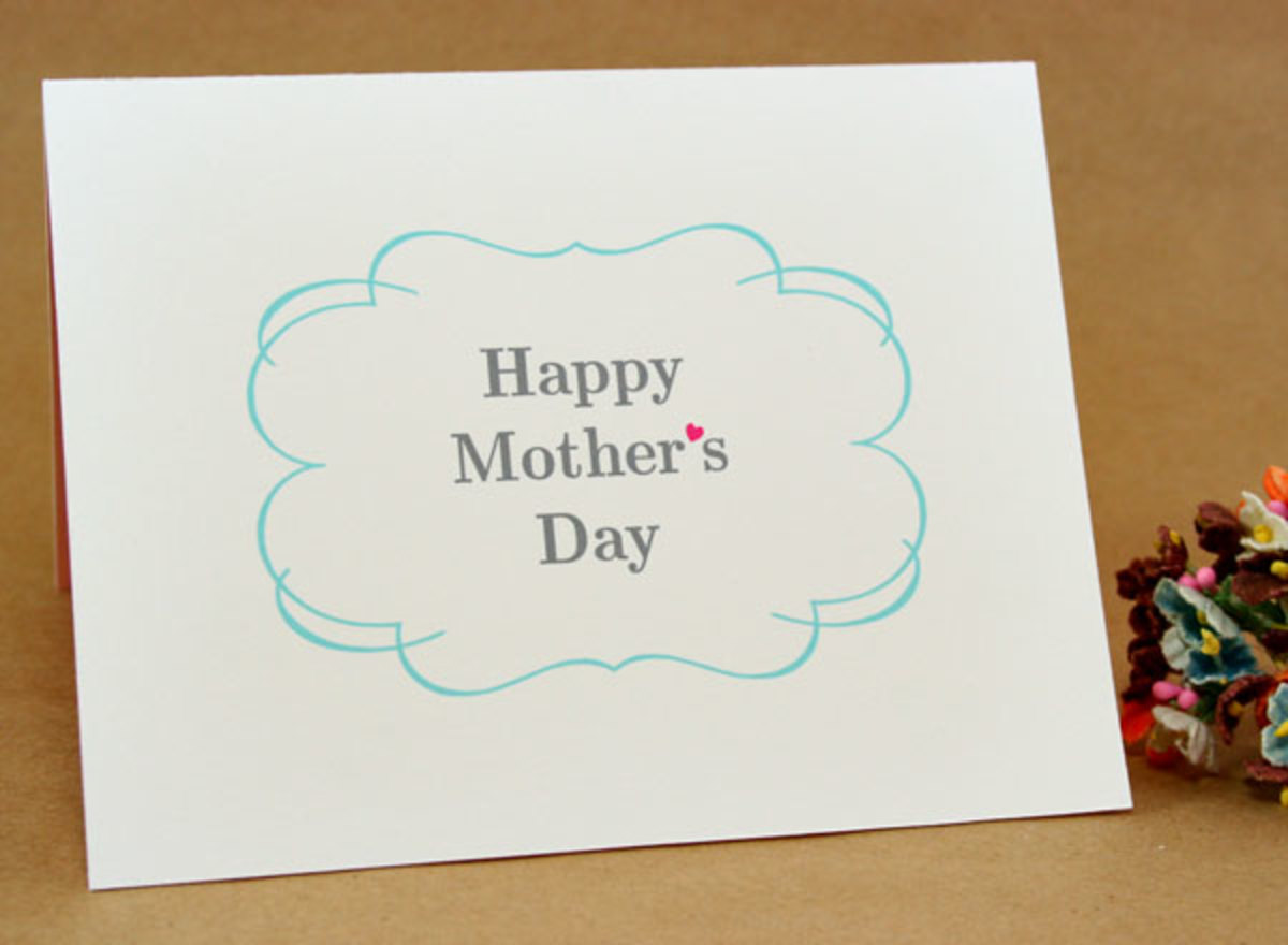 Mother 39 s Day Free Printables Cards