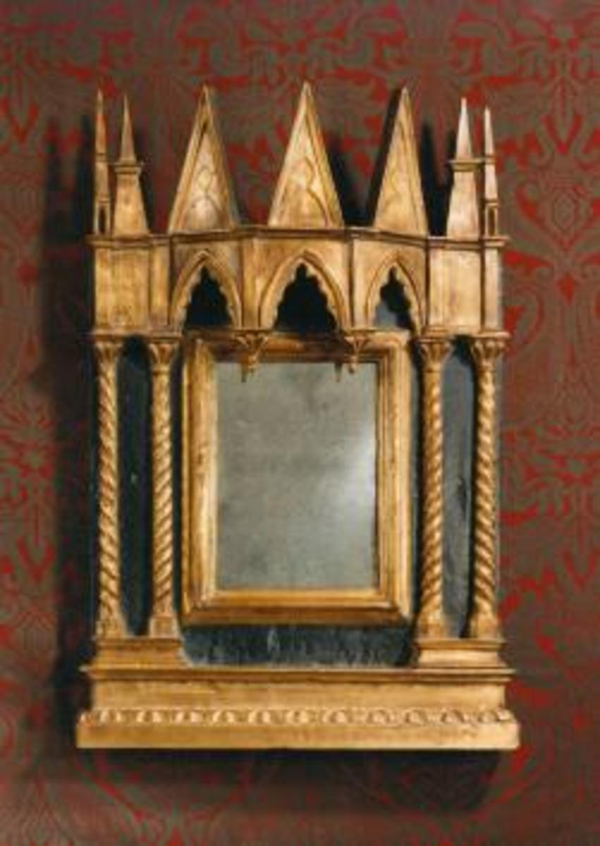 Beautiful Gothic Mirrors