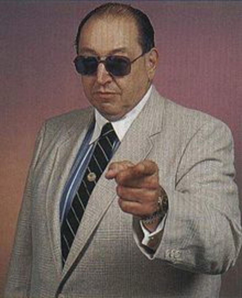 "THE LATE, AND TALENTED ""GORILLA"" MONSOON OF THE WWE."