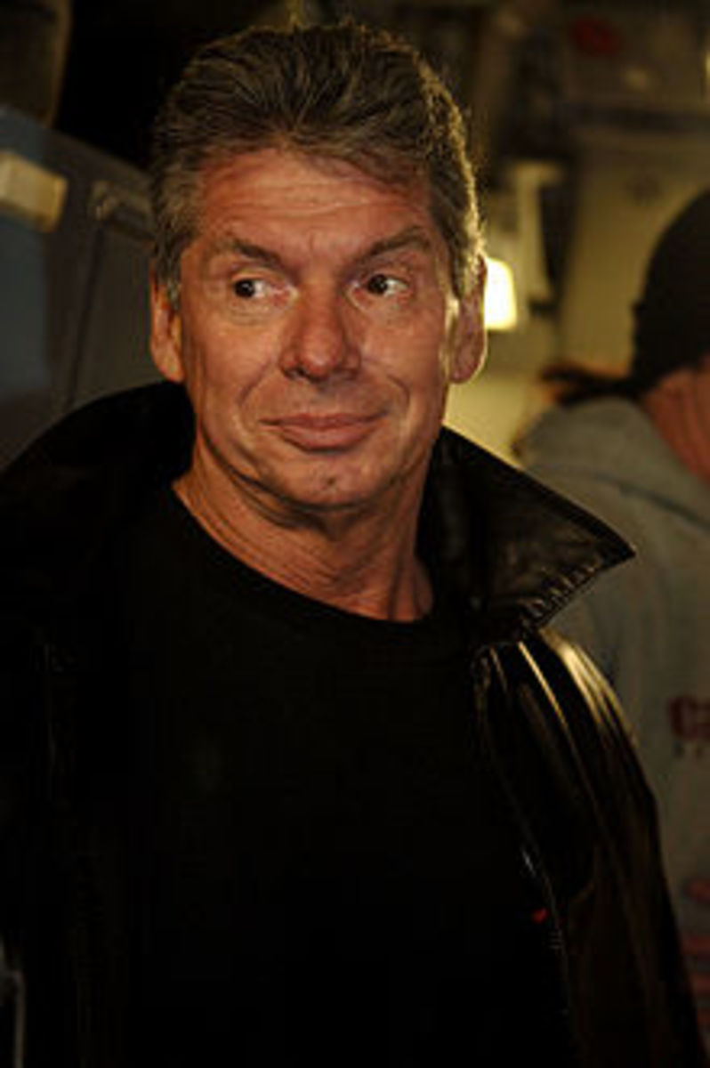 VINCE MCMAHON, WORLD WRESTLING ENTERTAINMENT (WWE).