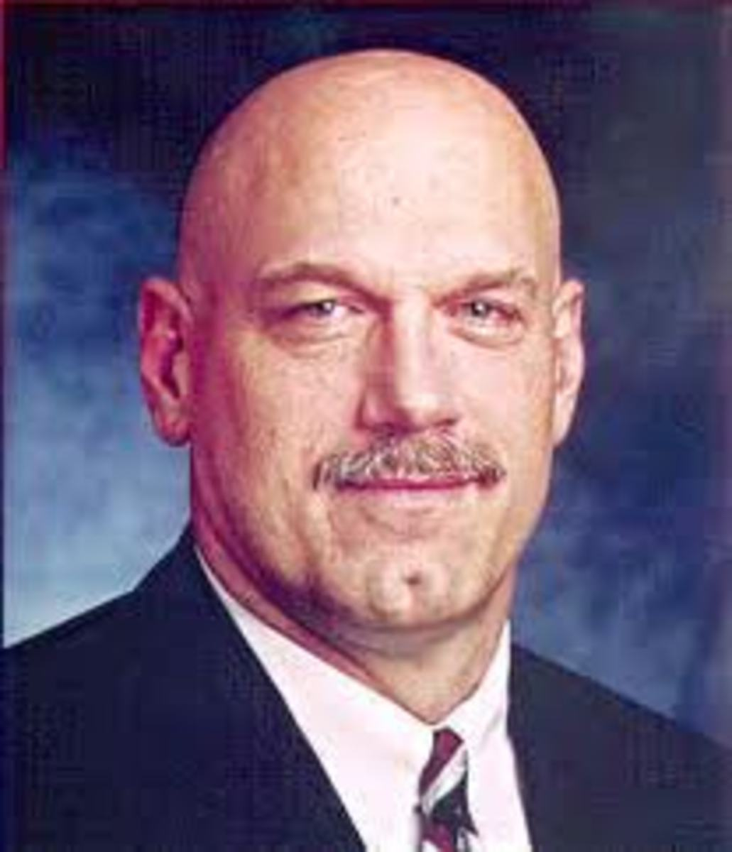 "JESSE ""THE BODY"" VENTURA, NAVY SEAL, ONE-TIME WRESTLER, ANNOUNCER, GOVERNOR OF MINNESOTA, AND ACTOR."