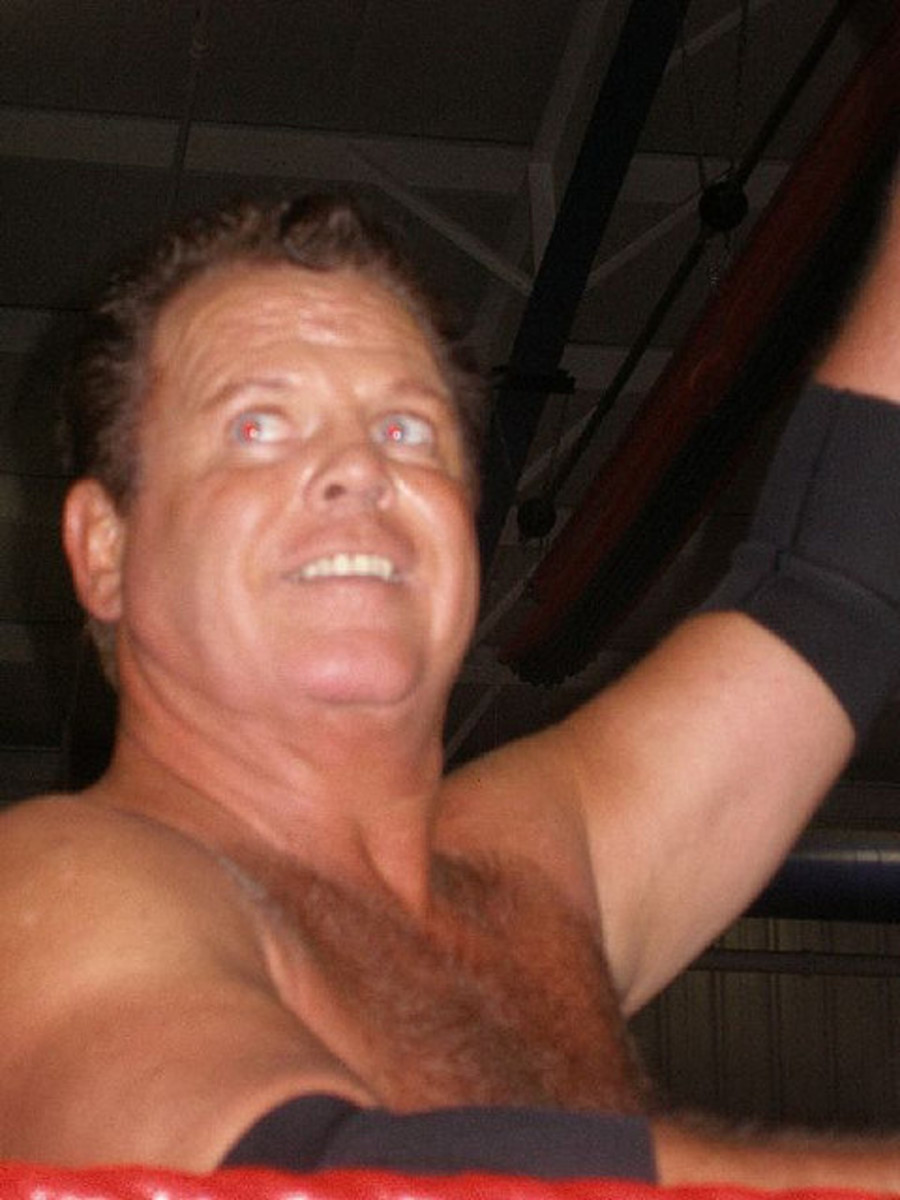 "JERRY ""THE KING"" LAWLER, WWE ANNOUNCER AND ONE-TIME WORLD CHAMPION WRESTLER."