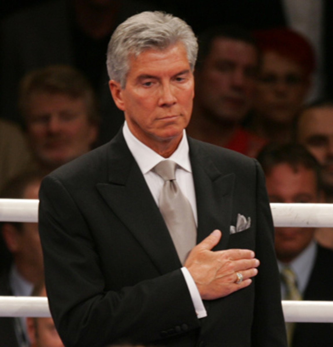 MICHAEL BUFFER OF VINCE MCMAHON'S WORLD WRESTLING ENTERTAINMENT (WWE).