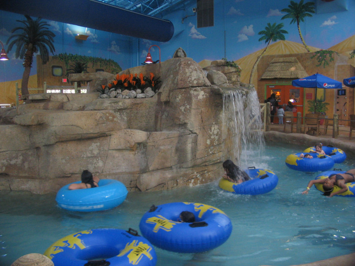 Sahara sam's indoor water park