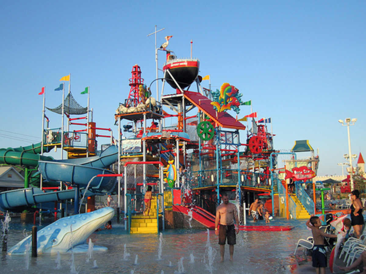 Runaway rapids in Keansburg theme park