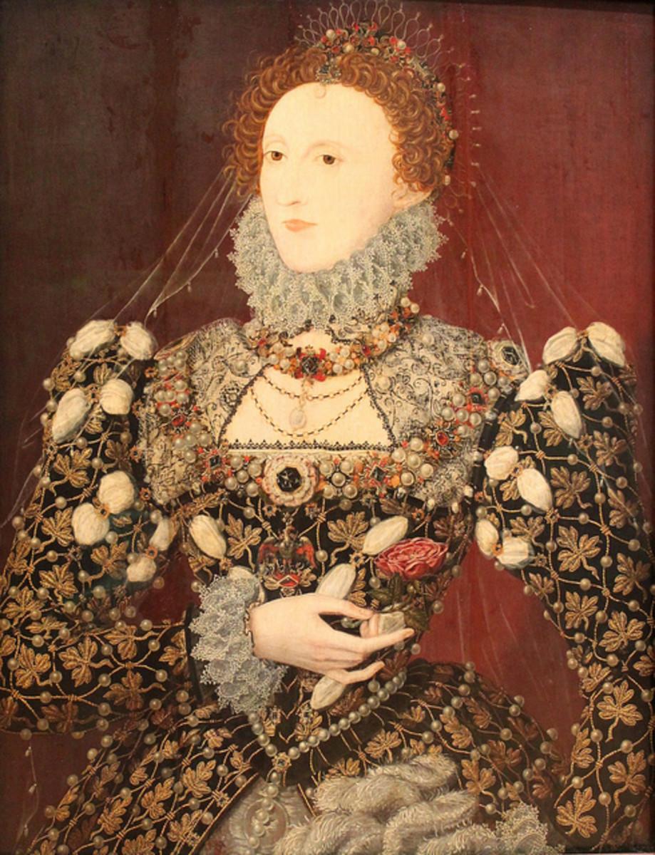 The radiant queen Elizabeth