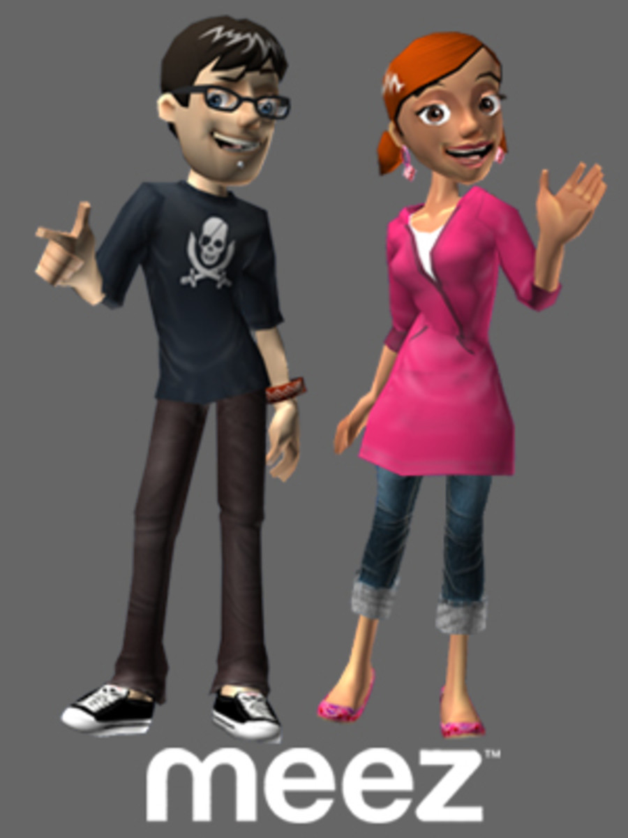Avatars from Meez.com