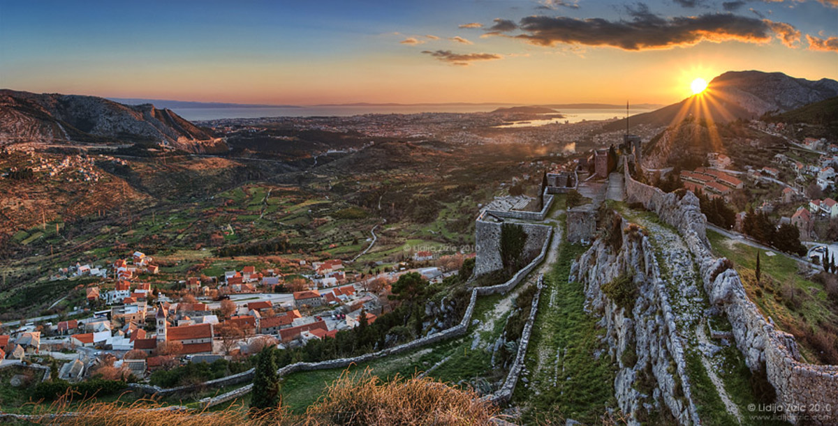 Klis, which means key, was the last fortress that the Turks reached.  They never entered the city of Split, a great source of pride for its residents.