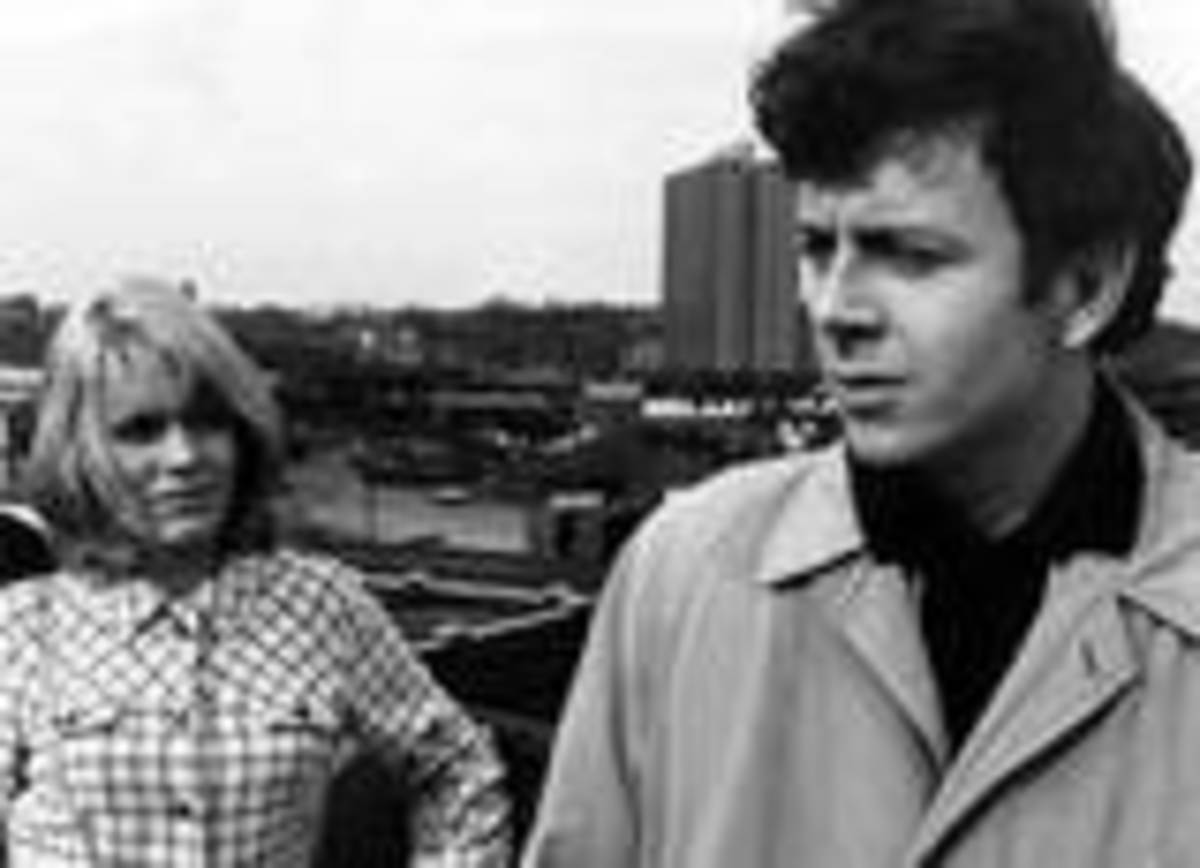 Carol White and Ray Brooks in the heartbreaking Ken Loach drama 'Cathy Come Home', voted Britain's Best Ever Drama Show