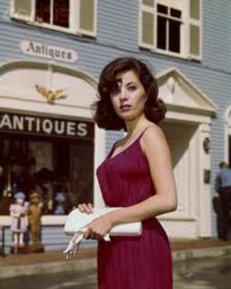Barbara Parkins,Canadian beauty with style and grace.  No hairnets for Babs!