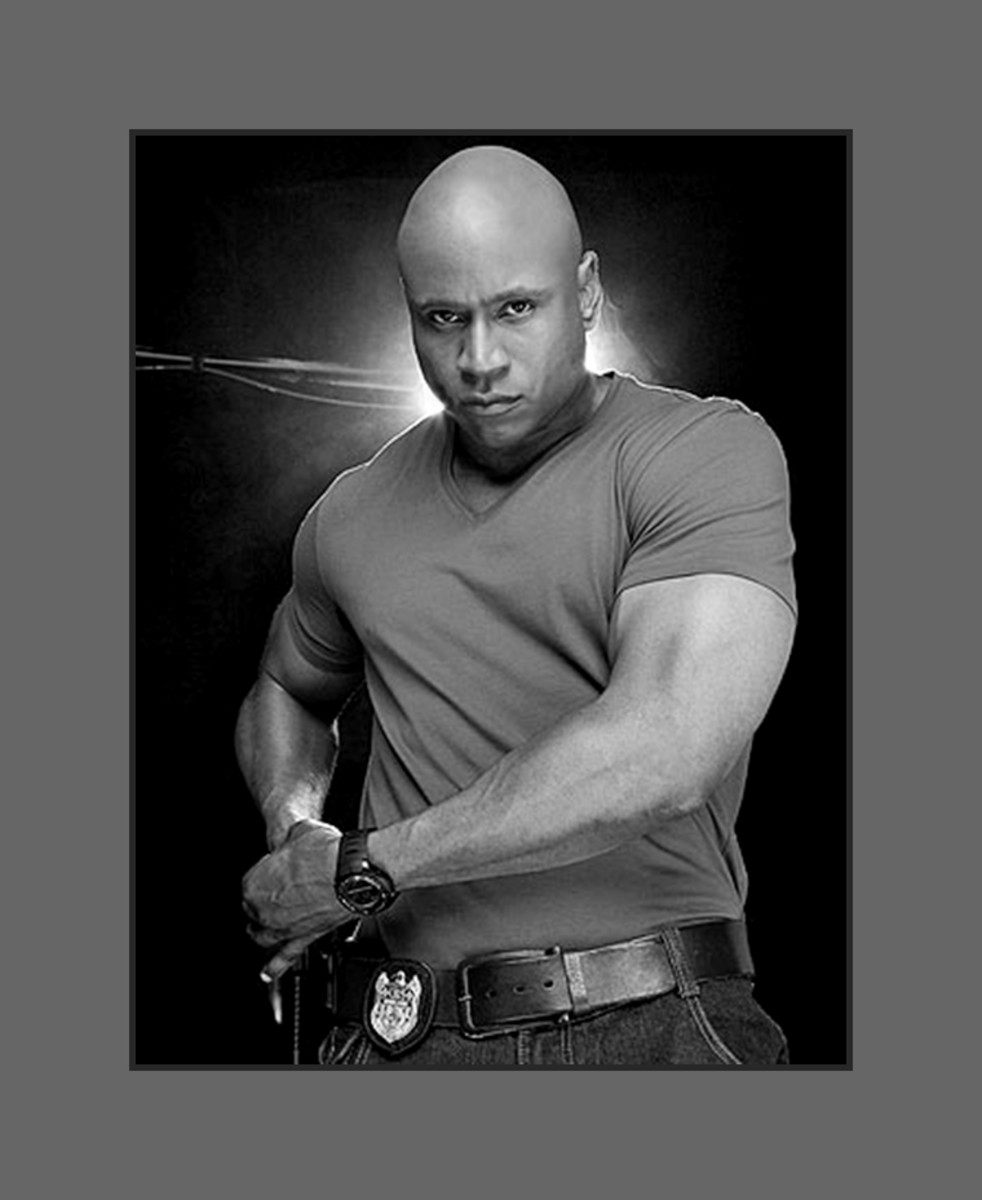Rapper turned actor LL Cool J sports the bold and bald look which compliments his character in NCIS Los Angeles. - 2013 Hairstyles for Men with Balding Thinning Hair Style Cuts Trends