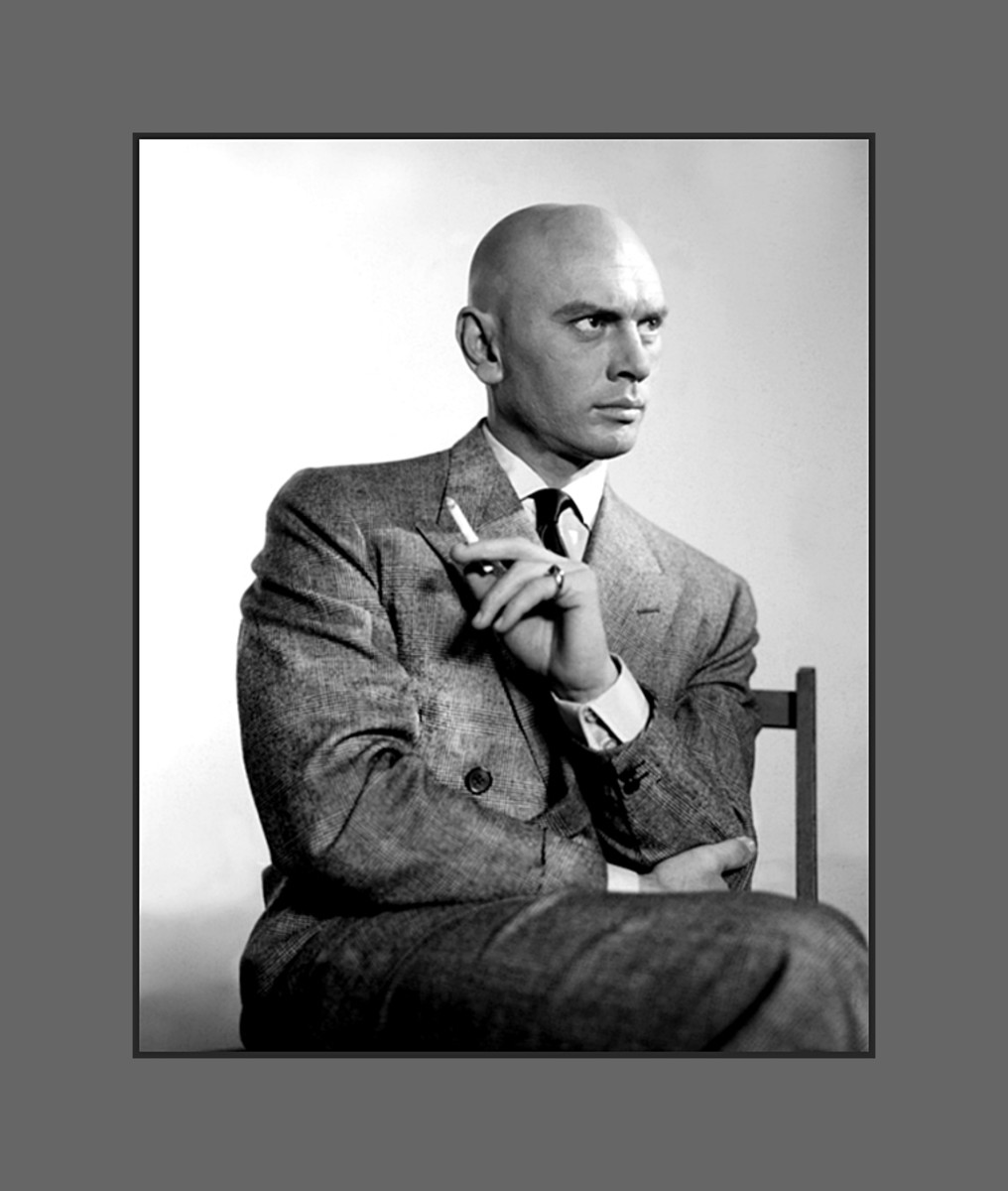 Yul Brynner wore his baldness with pride - Hairstyles for Men with Balding Thinning Hair Style Cuts Trends