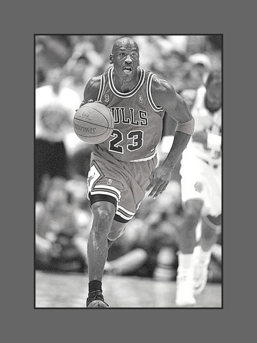 Michael Jordan made bald a fashionable hairstyle - 2013 Hairstyles for Men with Balding Thinning Hair Style Cuts Trends