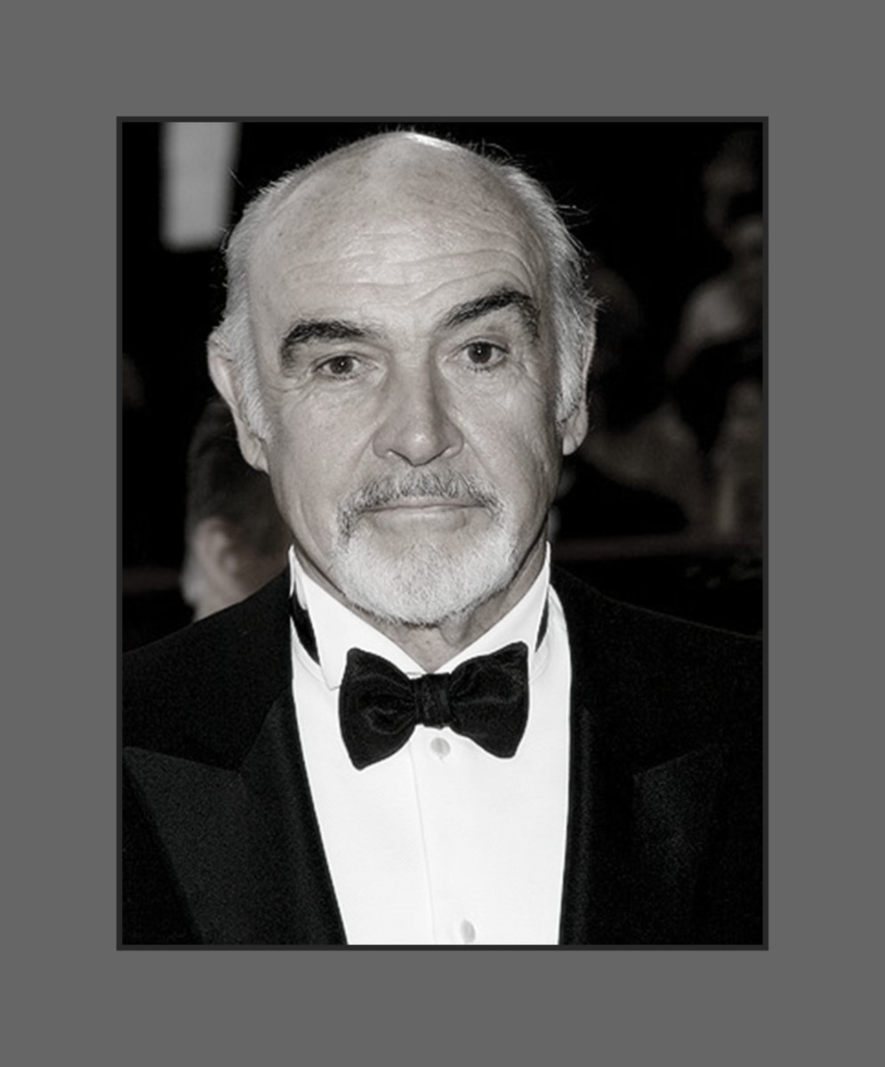 Sir Sean Connery got tired of wearing toupees for his movie roles, and decided to just go au naturel.  Sean Connery oozes sex appeal with or without hair.  - 2013 Hairstyles for Men with Balding Thinning Hair Style Cuts Trends