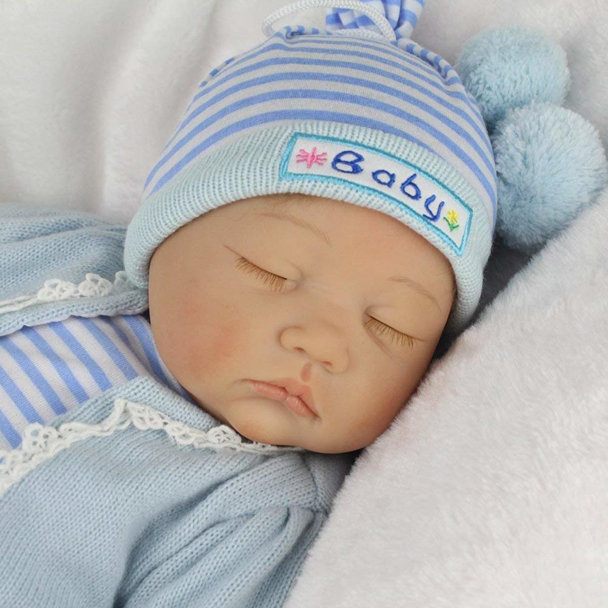 A Newborn Baby Doll looks so real