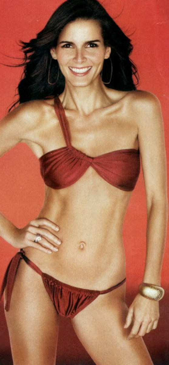 Skinny and Tall Angie Harmon