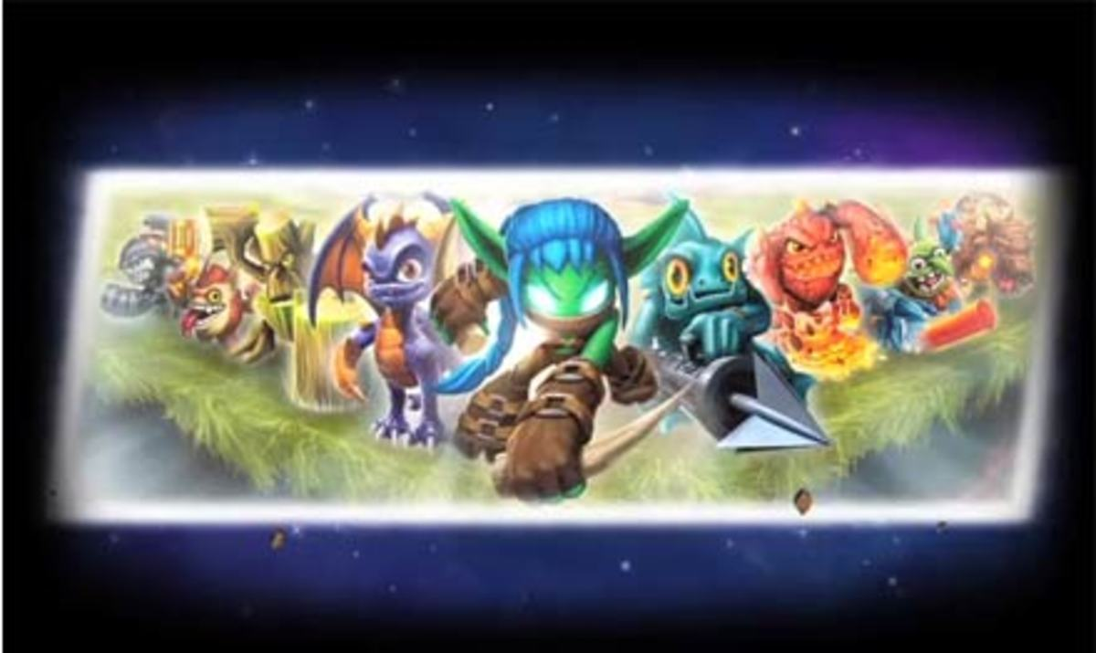 Who the Hell are these lot? And why is Spyro standing to ONE SIDE?! He's the main character, right?!