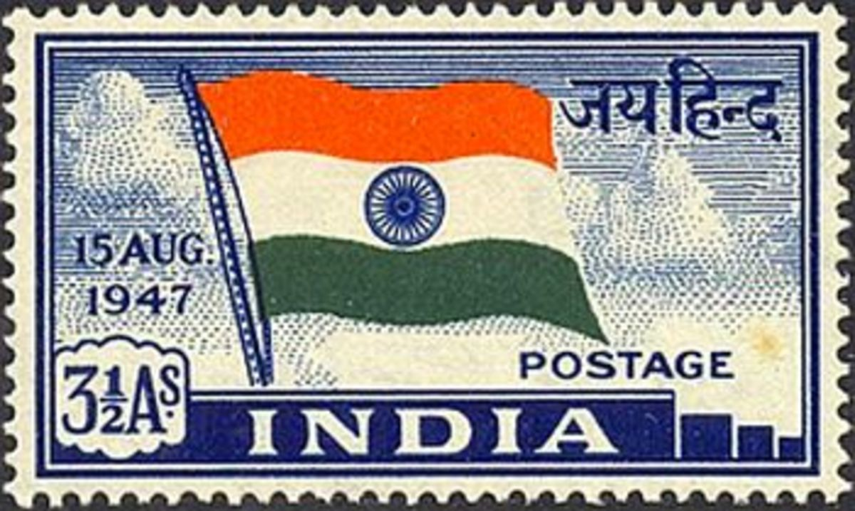 India Postage Stamp 1947