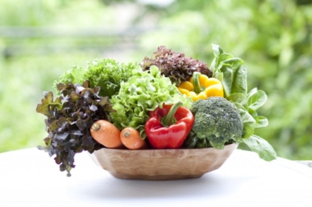 How To Grow Your Salad And Veg In A Small Space - Container Gardening
