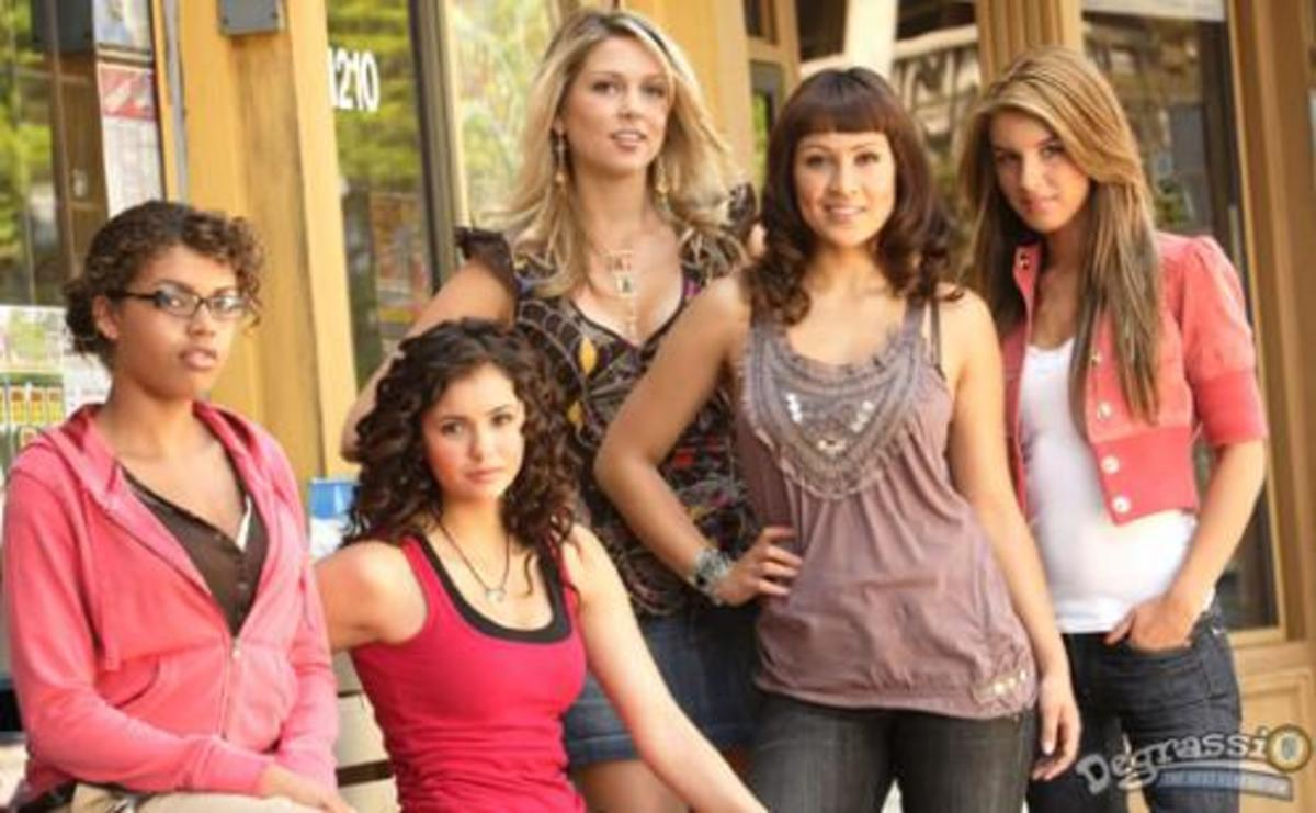 Degrassi Stars Now on the CW.