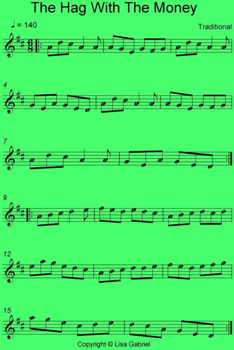 Irish Mandolin Notes