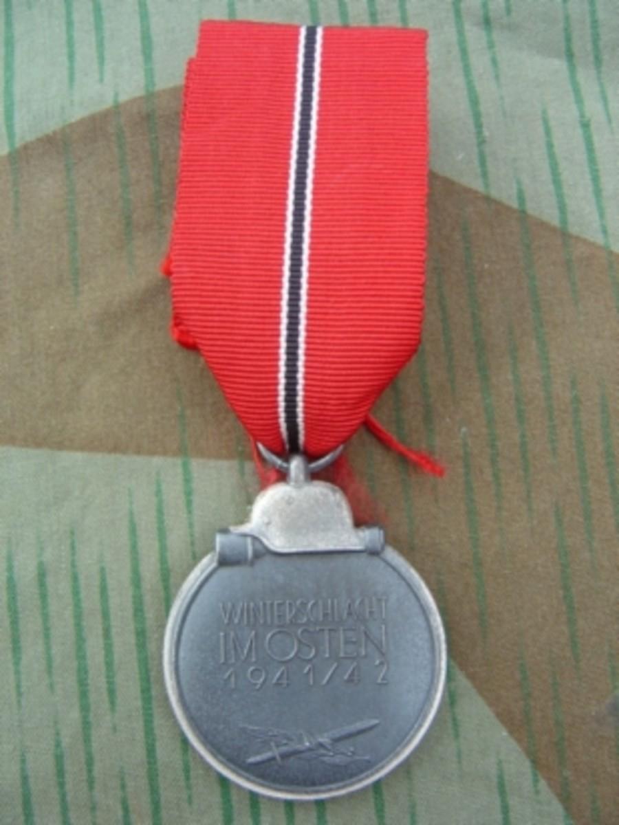 """Medaille """"Winterschlacht im Osten (Russian Front Medal)"""