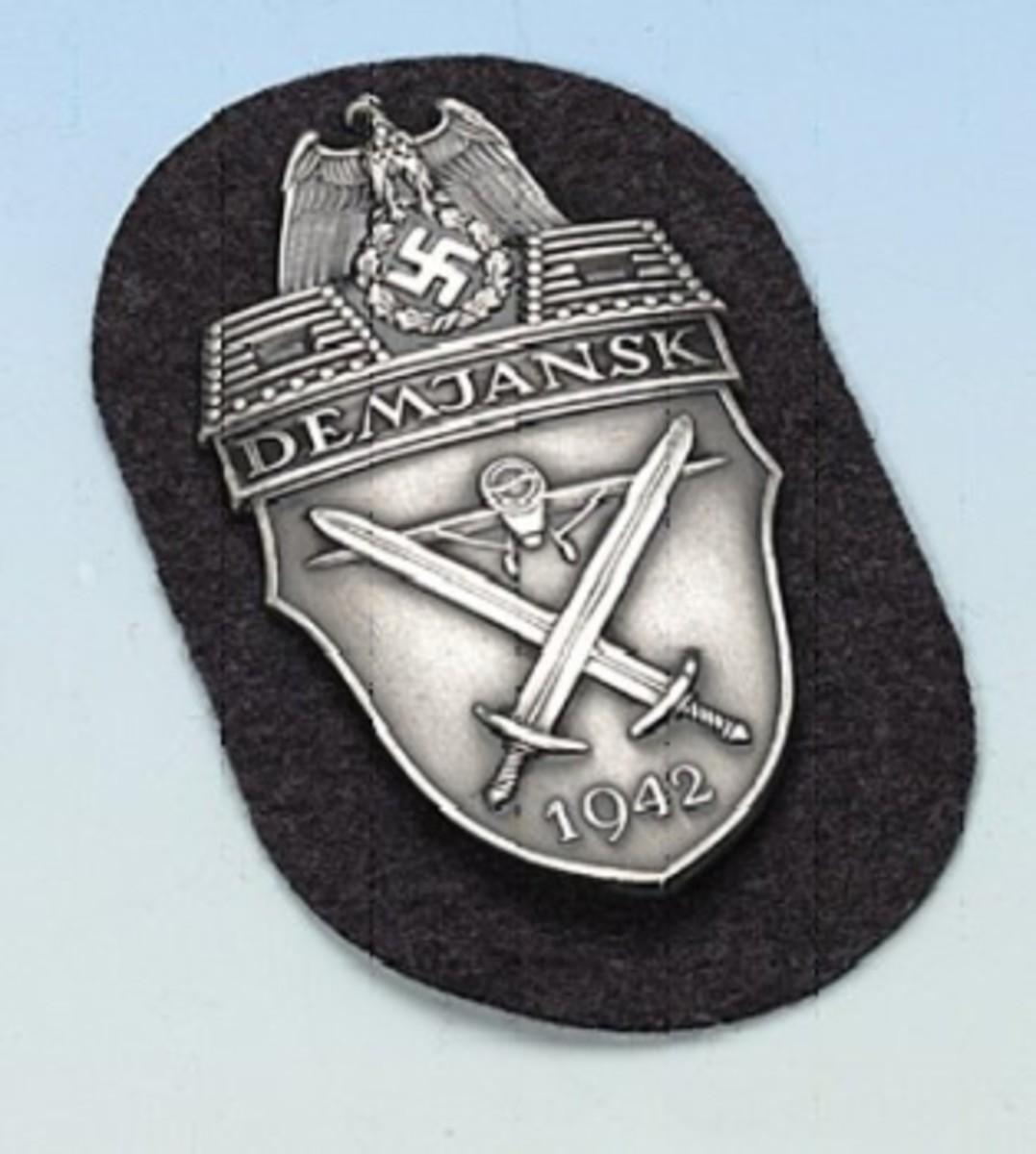 Demjanskschild (Demjansk Shield)