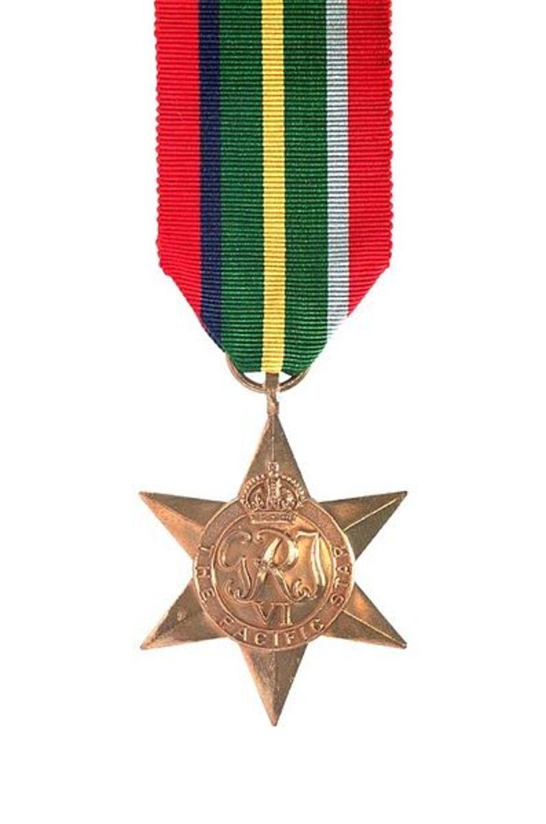 Pacific Star: 1941–1945