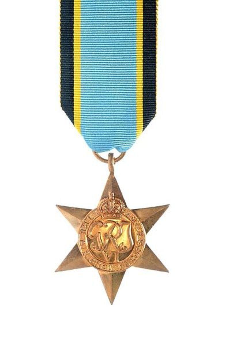 Air Crew Europe Star: 1939–1945