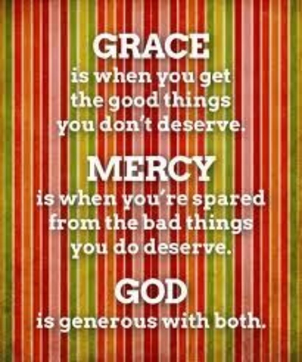 Grace and mercy defined