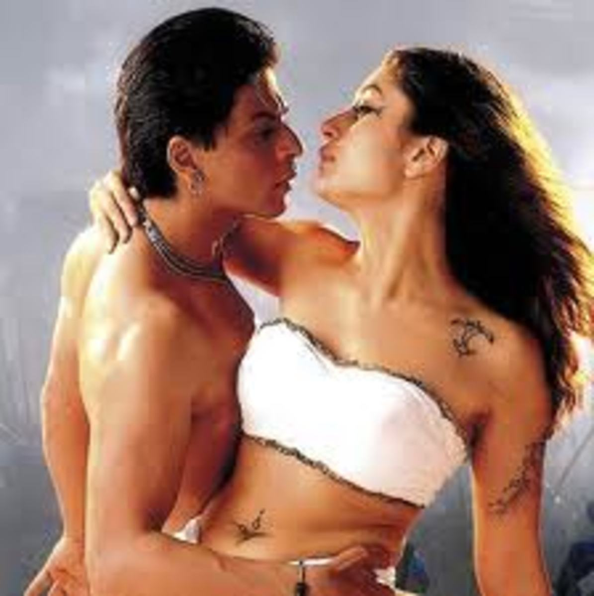 Shahrukh Khan and Kareena in Asoka.