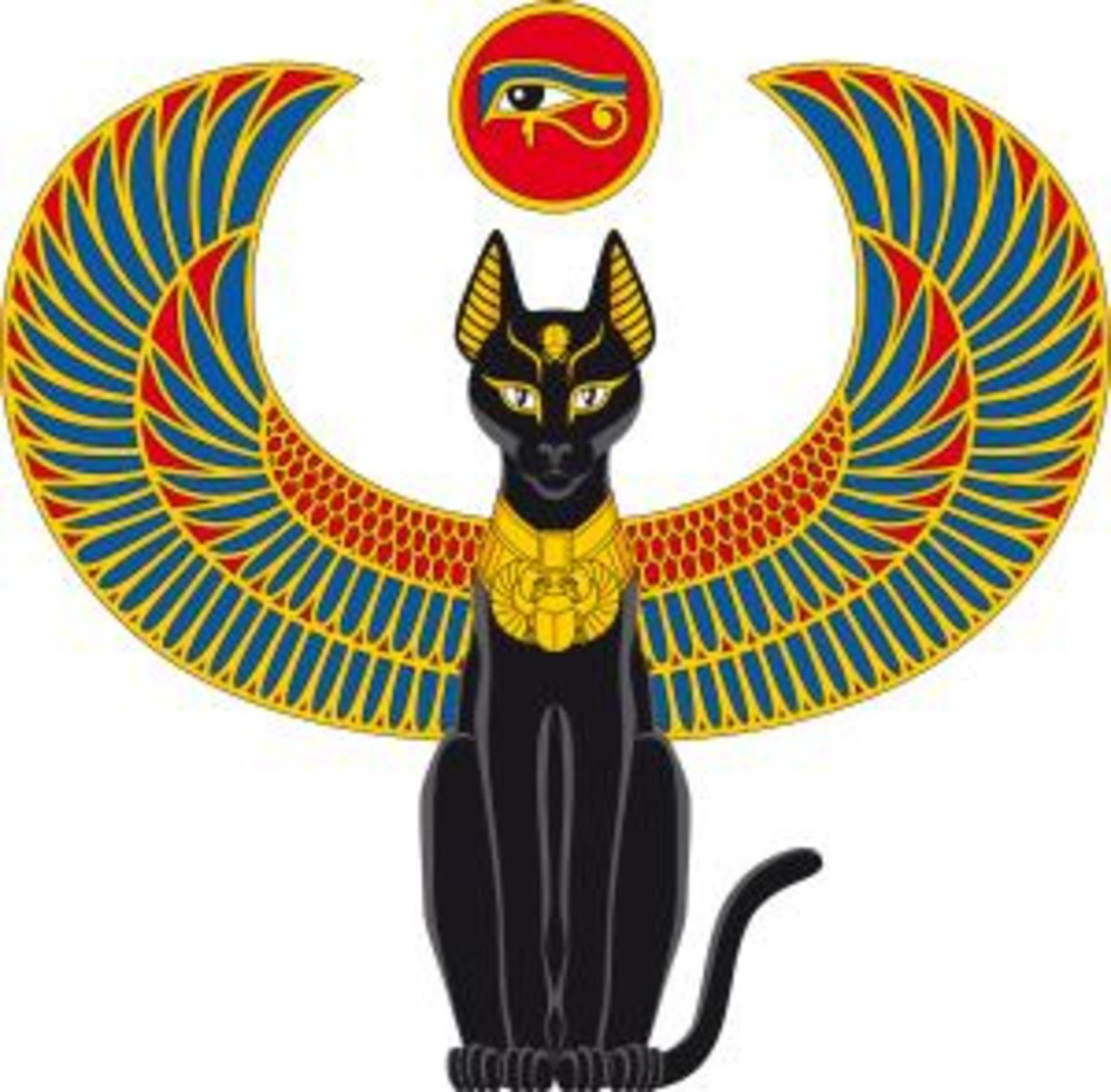 The cat has been here with us from the beginning guiding our human minds to love and acceptance.