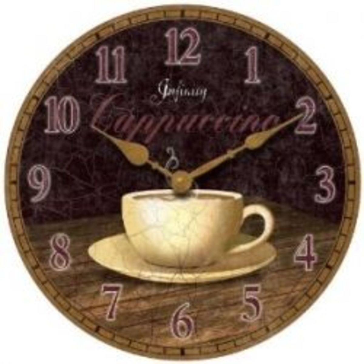 Coffee Kitchen Decor - Wall Clock