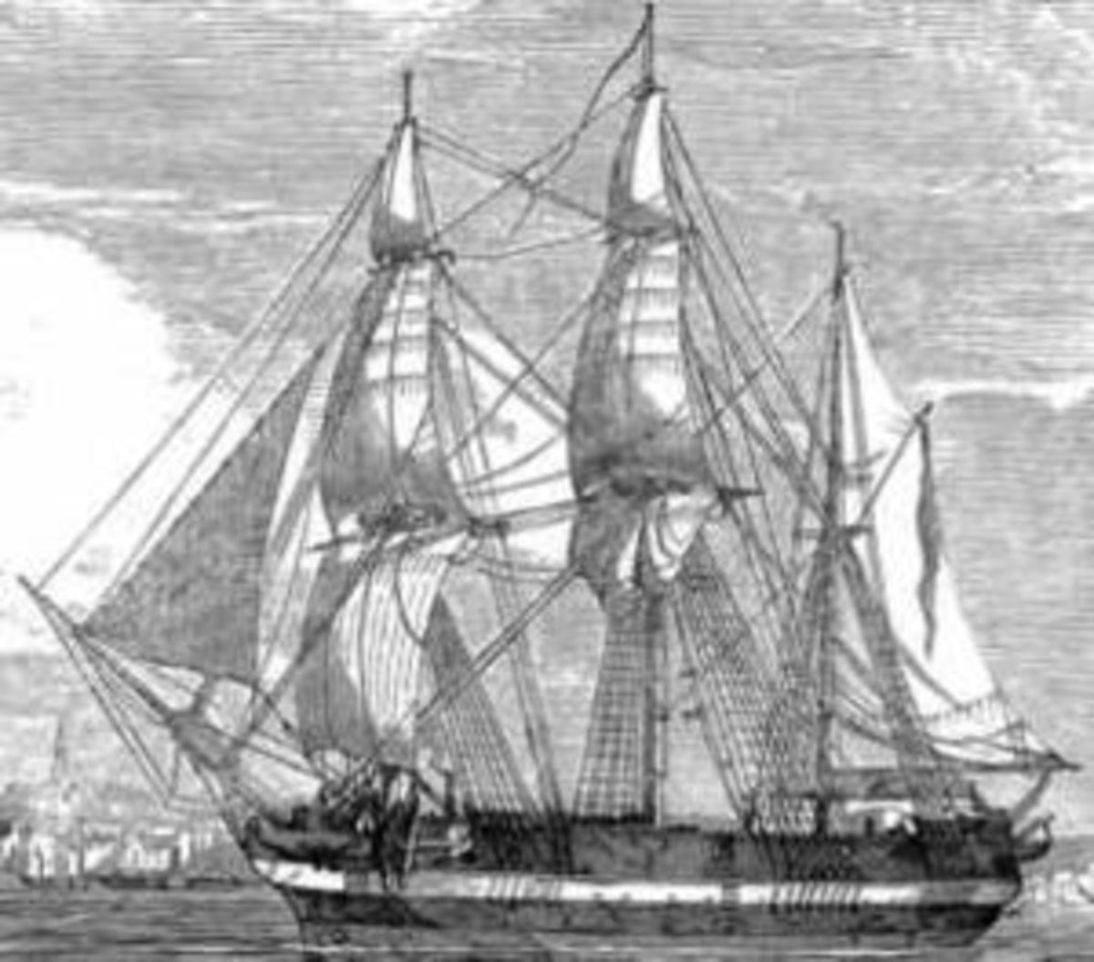 HMS Erebus.