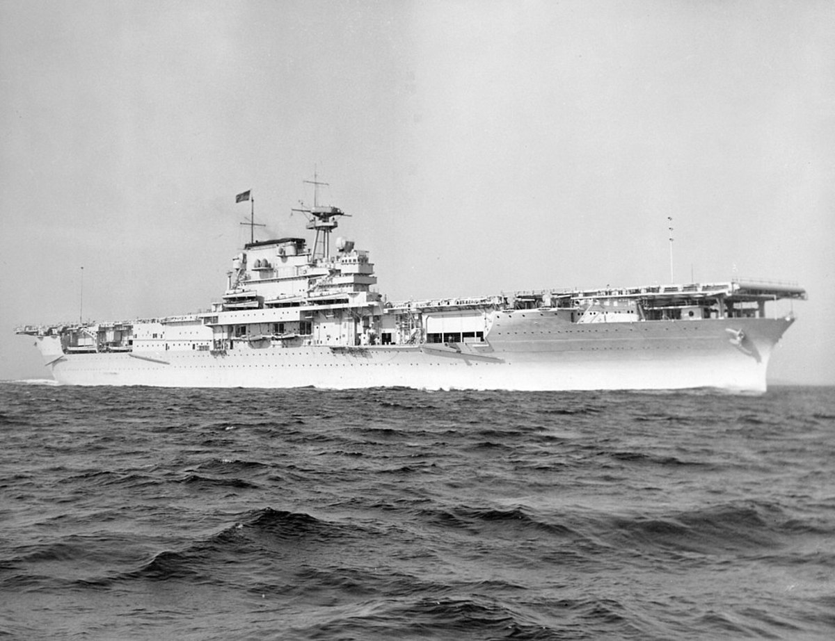 The USS Yorktown.
