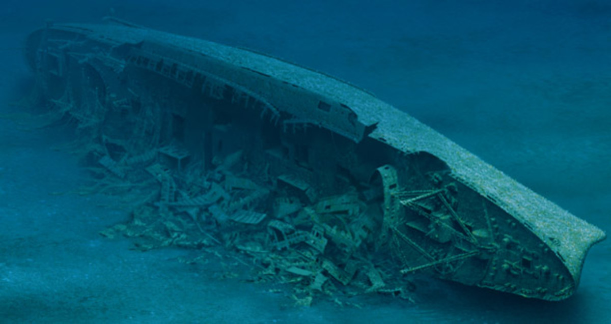 The Andrea Doria circa 2000s