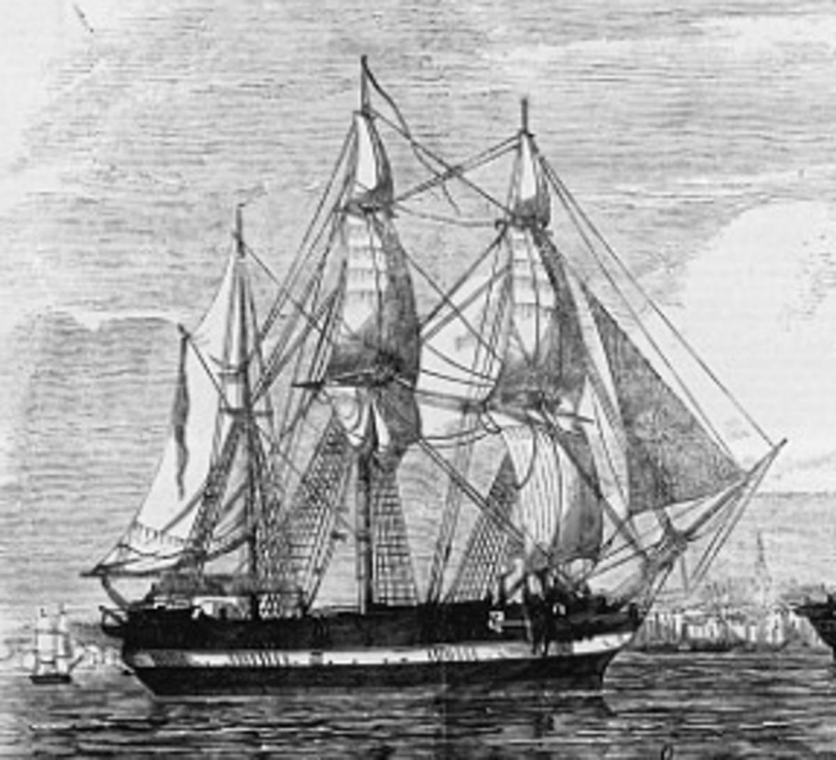 HMS Terror.