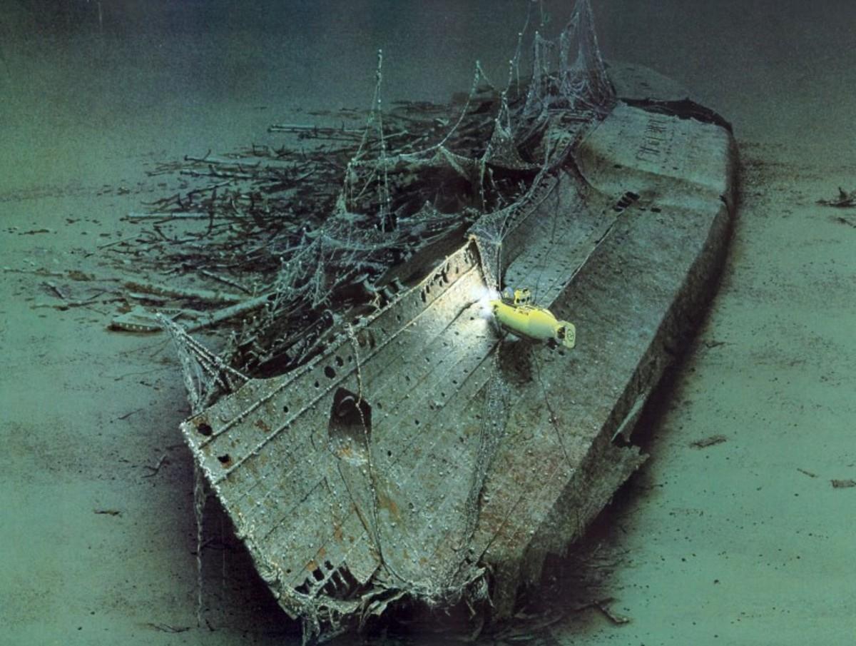 Lusitania in 2001
