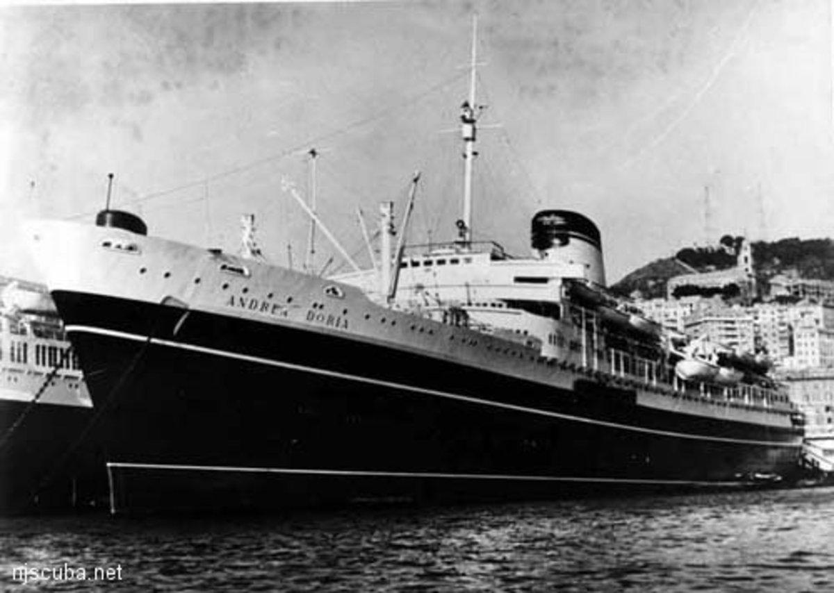 Andrea Doria in 1953