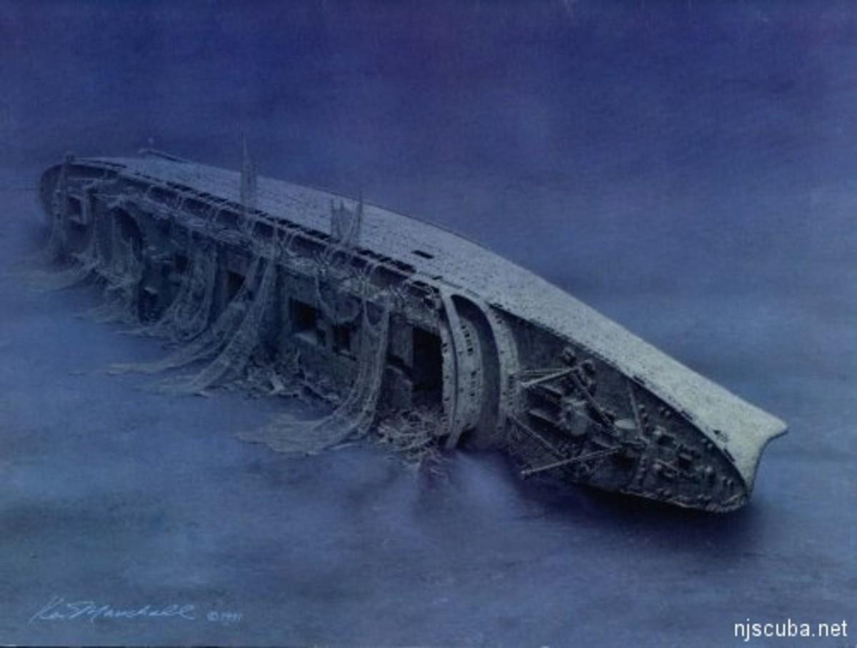The wreck circa 1980s