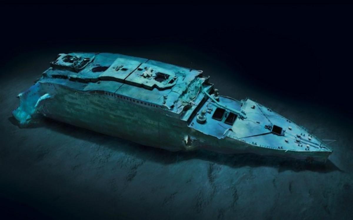 Titanic in 2012