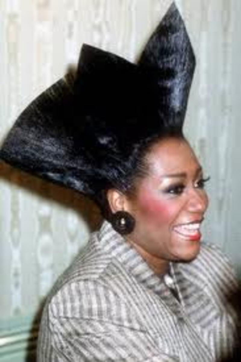 80s Hairdo