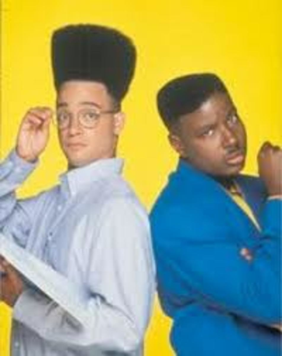 High Top Fade Hairstyle in the 80s