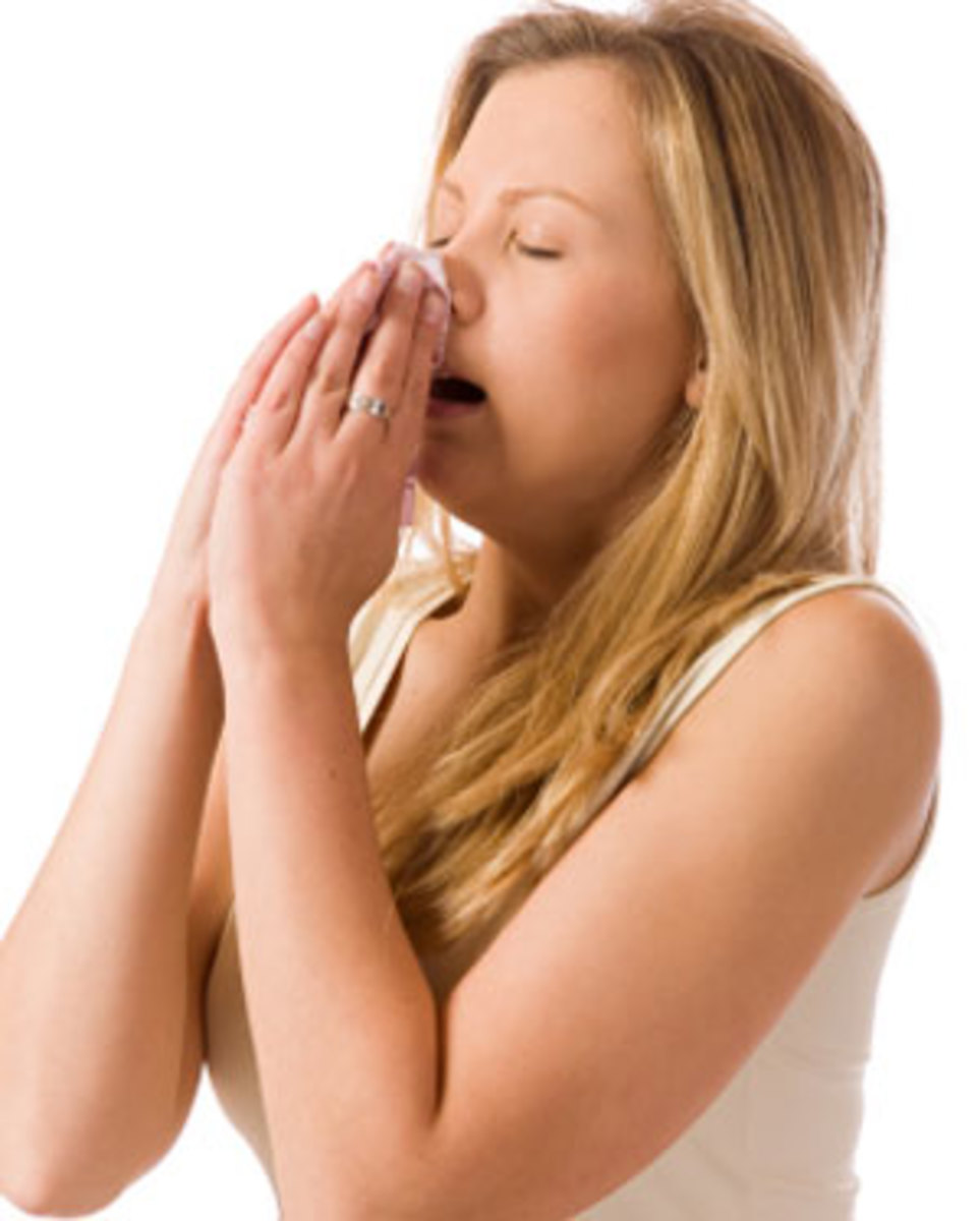 Sneezing can be a reaction to an irritant in the nose, or due to exposure to bright light. When bright light is the cause, it is called a Photic sneeze reflex.