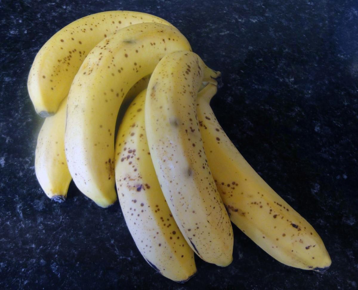 Take a bunch of bananas