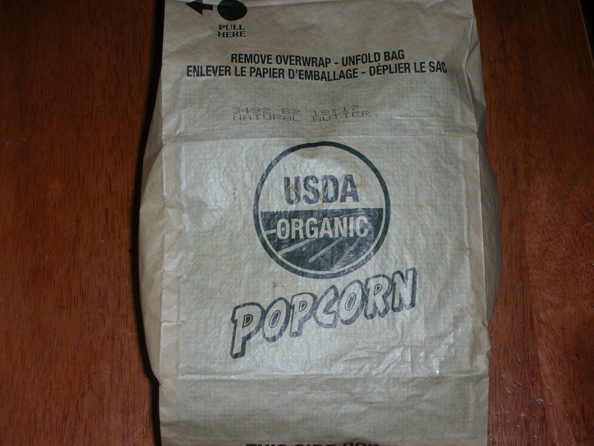 Popped bag