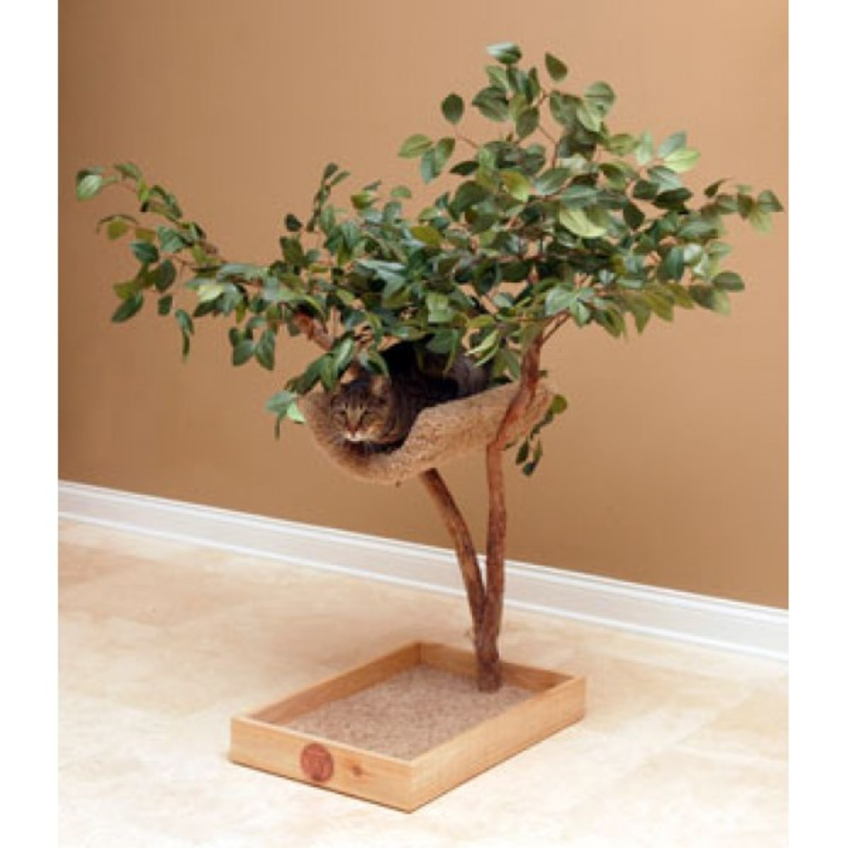 Sprout Lifelike Cat Tree With Perch