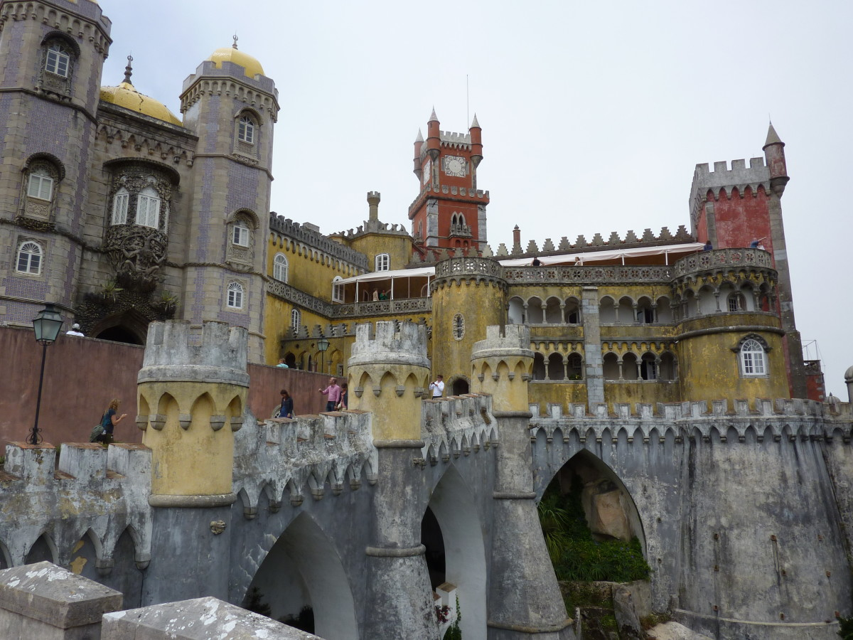 Pena Palace: home to a crazy king or perhaps a quirky, creative man?