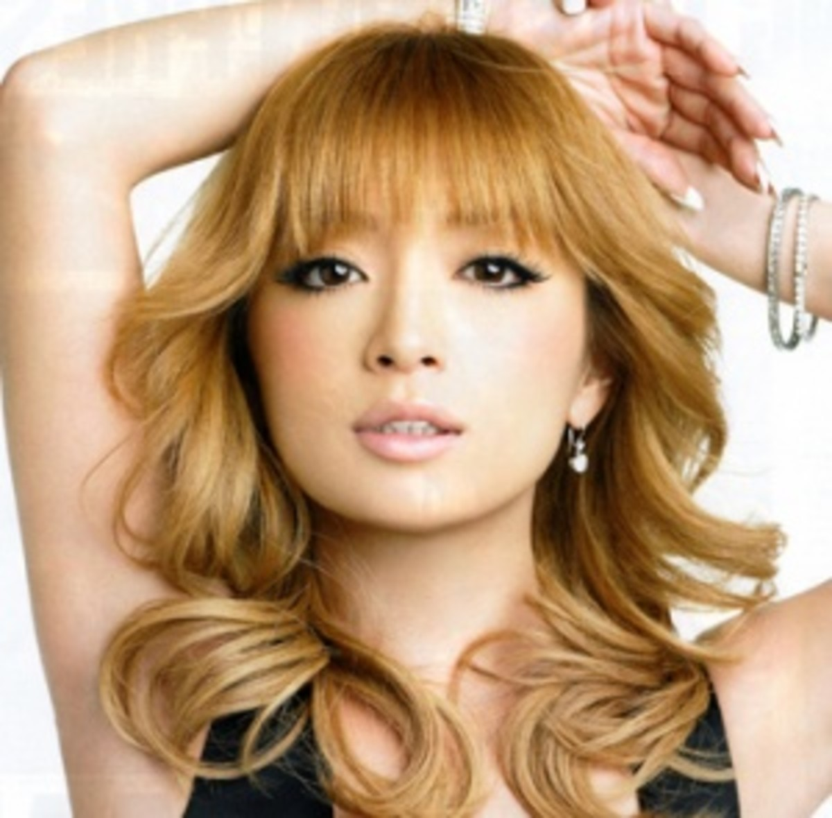 Blonde Asian Ayumi Hamasaki